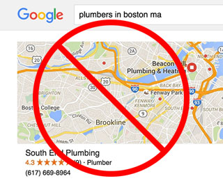 Local SEO for Real Estate is not like plumbers.