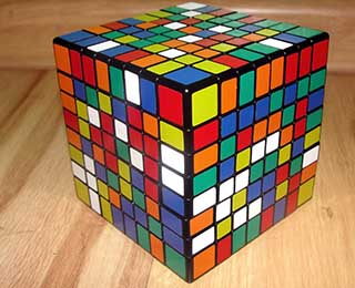 Rubik's Cube on Steroids.