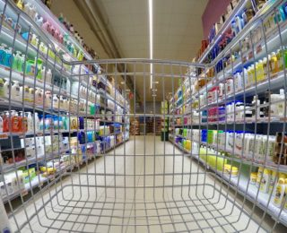 Supermarkets are basically giant sales funnels.