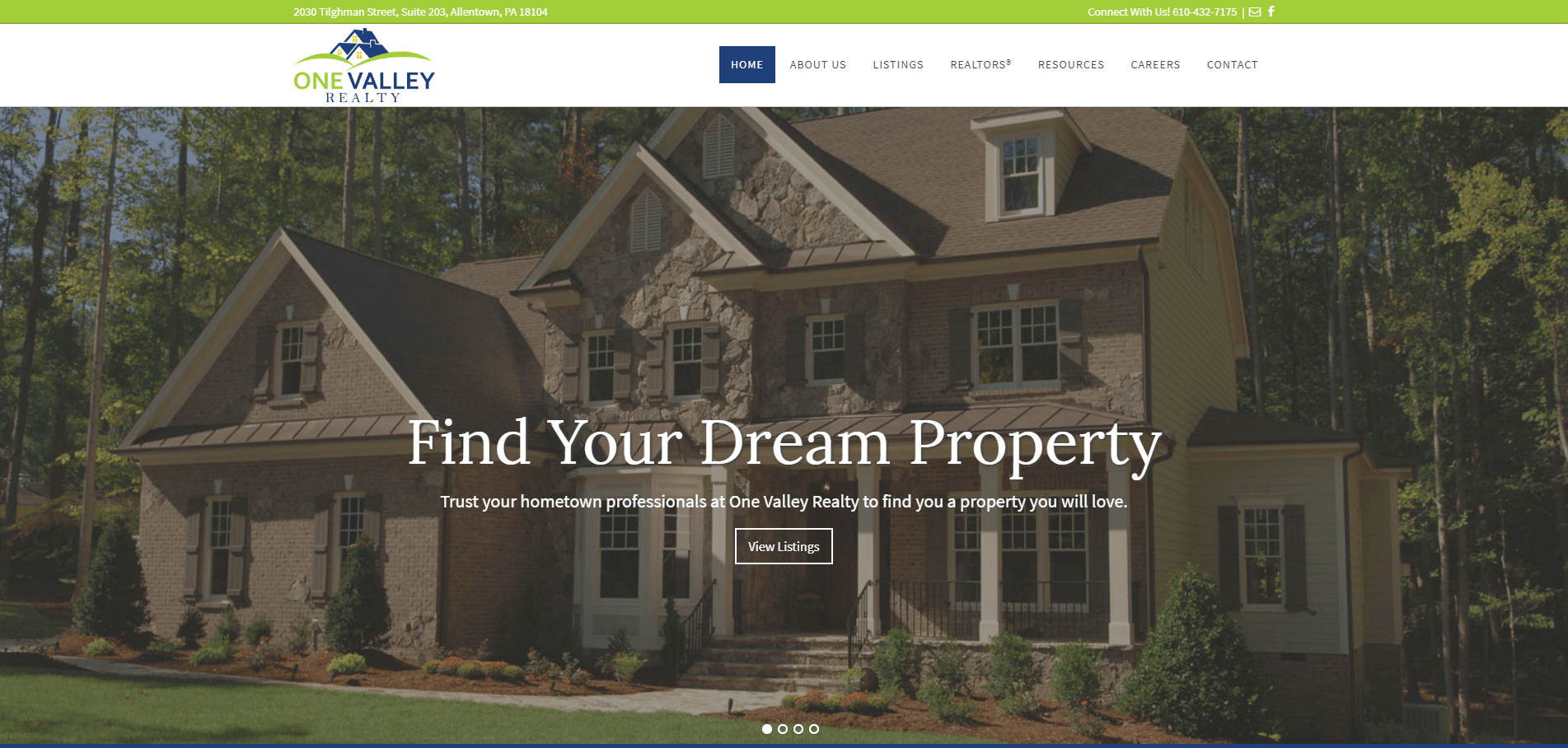 WOW!  Here are 101 of the best real estate websites.  Here's onevalleyrealty.com.  Curious who made the cut?